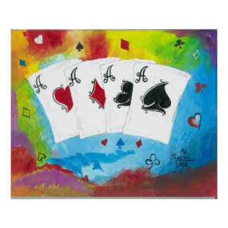 4 Aces Poster