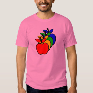 4 Apples a Day keep 4 Doctors Away Tee Shirt