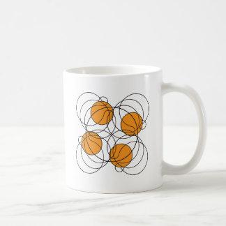 4 Basketball Pattern - 3D Mugs