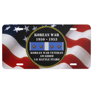 4 BATTLE STARS KOREAN WAR VETERAN