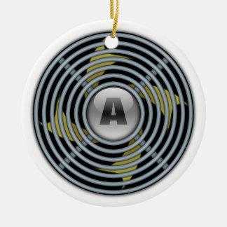 4 Blade Reversible Exhaust Fan Christmas Ornament