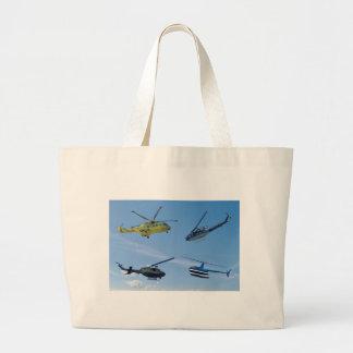 4 Chopper Large Tote Bag
