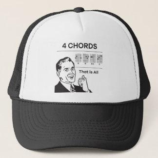 4 chords trucker hat