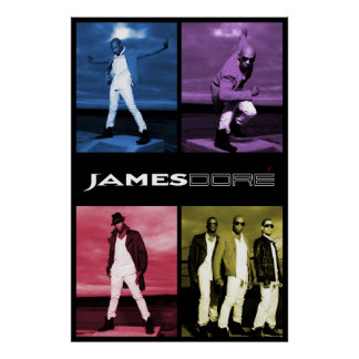 4 Color James Dore' Poster