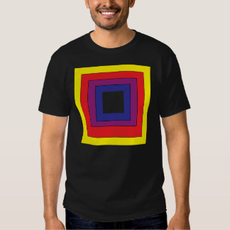 4 Color Vector Square Tee Shirt