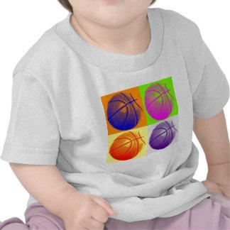 4 Colors Pop Art Basketball Shirts