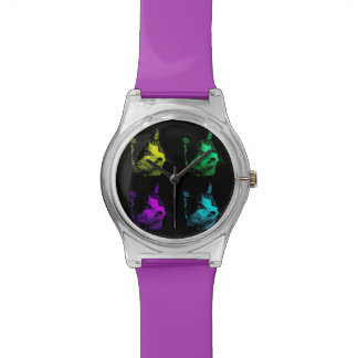 4 Colour Cat Watch