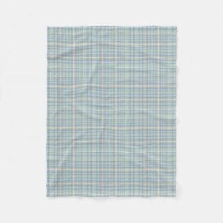 4 Colours Plaid Tartan McFig 2B Fleece Blanket
