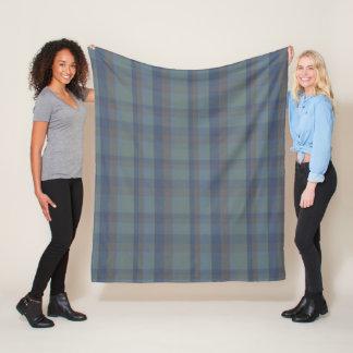 4 Colours Plaid Tartan McFig Fleece Blanket