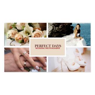 4 Custom Photo Wedding Photography Business Cards