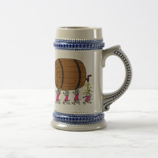 4 Drunk Mice Beer Stein