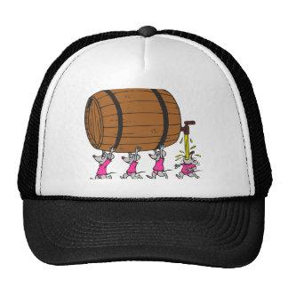 4 Drunk Mice Cap
