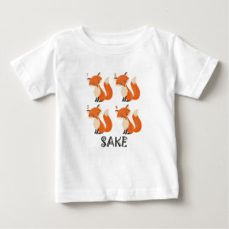 4 Fox Sake Baby T-Shirt