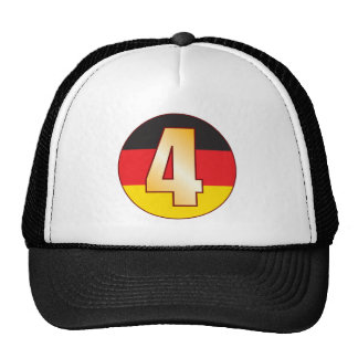4 GERMANY Gold Cap