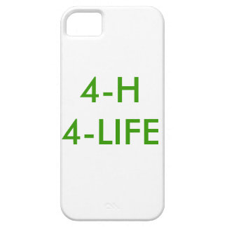 4-h 4 life iPhone 5 cases