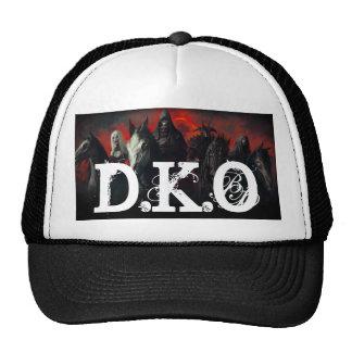 4 horseman D K O Trucker Hats