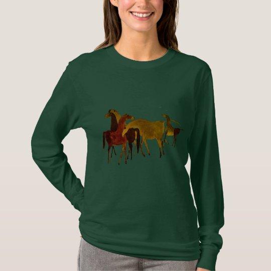 4-HORSES T-Shirt