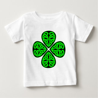4 Leaf Celtic Shamrock Baby T-Shirt