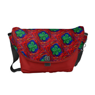 4 Leaf Clover Courier Bag
