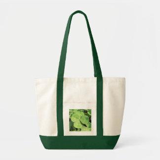 4 Leaf Clover Good Luck Charm Tote Bag
