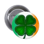 4 Leaf Clover with Colour Button
