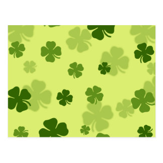 4 Leaf Clovers Postcard