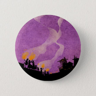 4 Little Monsters - Halloween Night 6 Cm Round Badge