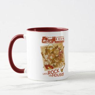 4 Little Monsters - Let's Rock the House Mug