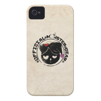 4 Little Monsters - Michael Holiday Logo iPhone 4 Cases