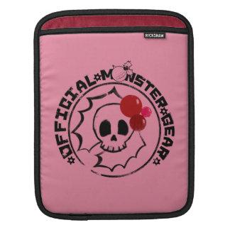 4 Little Monsters - Nessa Holiday Logo iPad Sleeve