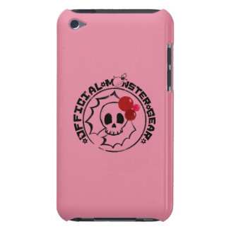 4 Little Monsters - Nessa Holiday Logo iPod Touch Case-Mate Case