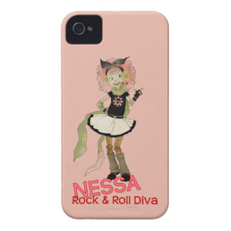 4 Little Monsters - Nessa iPhone 4 Case-Mate Cases