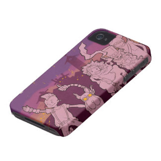 4 Little Monsters - Night Music iPhone 4 Cover