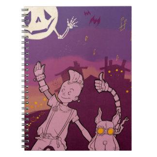 4 Little Monsters - Night Music Notebook