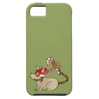 4 Little Monsters - Tesla Holiday Logo iPhone 5 Cover