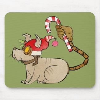 4 Little Monsters - Tesla Holiday Logo Mouse Mat