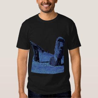 4 Moai, Easter Island T T Shirts