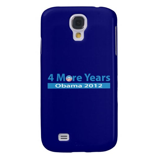 4 More Years of Obama Galaxy S4 Case