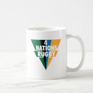 4 Nations Rugby Basic White Mug