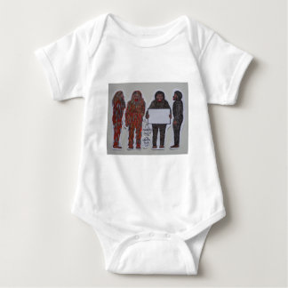 4 Neanderthals,.JPG Baby Bodysuit