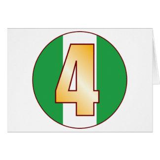 4 NIGERIA Gold Card