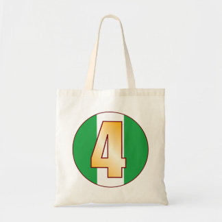 4 NIGERIA Gold Tote Bag