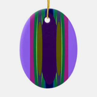 4 out of 5 Santas recommend: Bonini Beach Surf Ace Ceramic Oval Decoration