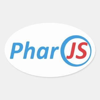 4 PharoJS Glossy Stickers