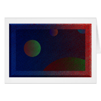 4 Planets? Greeting Card