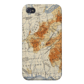 4 Population 1810 iPhone 4/4S Covers