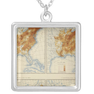 4 Population 18301860 Silver Plated Necklace