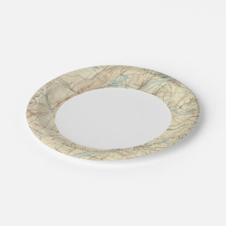 4 Springfield sheet 7 Inch Paper Plate