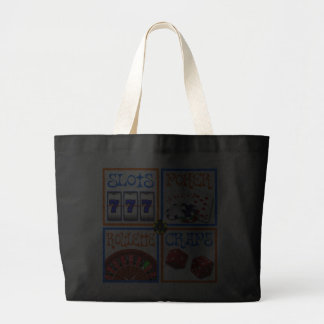 4 SQUARES OF GAMING JUMBO TOTE BAG