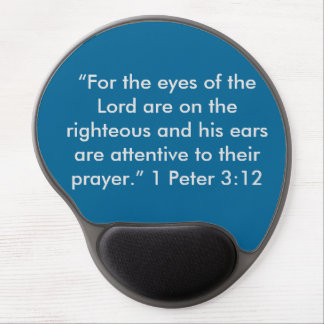 """""""4 the eyes of the Lord"""" Motivational Gel MousePad"""